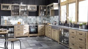 cuisine bois et inox 07303440 photo cuisine metal et bois maisons du monde jpg y