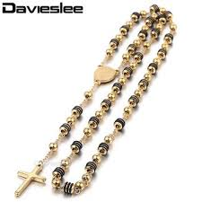 2015 men s jewelry 8mm 60cm new arrival shop black cross necklace for men on wanelo
