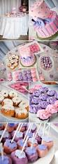 feminine pink and purple baby shower the celebration society