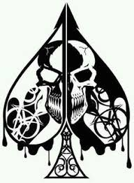 lovely ace of spades art pinterest tribal style poker and