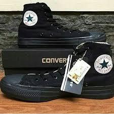 Sepatu Converse Black converse sepatu converse high all 12 color elevenia