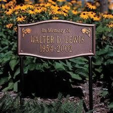 outdoor memorial plaques custom outdoor memorial plaques