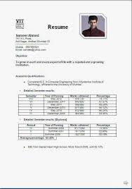 Sample Engineering Student Resume by Student Resume Format Berathencom Resume Format Models New Resume