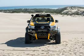 the toyota the tonka toyota one off toy hilux built by car magazine