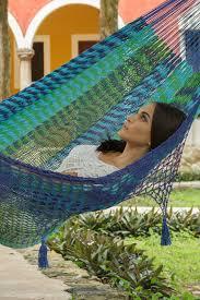 deluxe outdoor cotton king hammock in caribe u2013 hammock shop