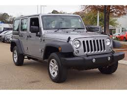 jeep liberty 2015 grey jeep wrangler in mississippi for sale used cars on buysellsearch