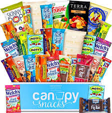 healthy care packages canopy snacks deluxe healthy care package variety assortment