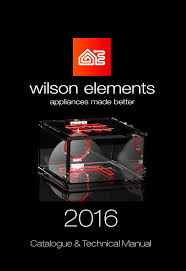 catalogue u2014 wilson elements