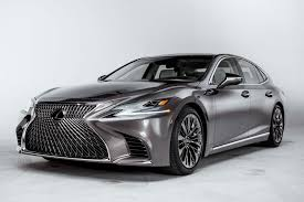 lexus sedan reviews 2017 2018 lexus ls first look automobile magazine