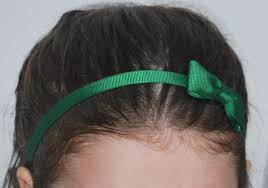 ribbon headband ribbon