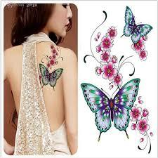 tattoos butterflies flowers designs price comparison buy