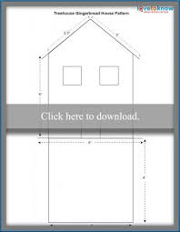 gingerbread house patterns lovetoknow