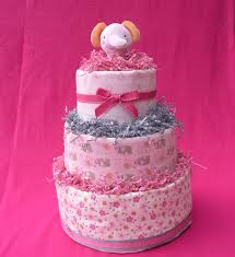 how to make your own baby shower diapers cake baby shower