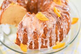 pound cake with meyer maple glaze