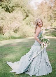 dusty wedding dress a truly special something blue your wedding dress onefabday
