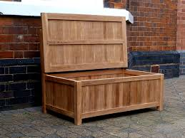 Diy Wooden Storage Bench by Diy Outdoor Storage Benches Home Inspirations Design