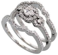 wedding ring sets cheap cheap 3 wedding ring glamorous cheap wedding rings sets