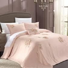 Pink And Grey Comforter Set Blush Pink Comforter Wayfair