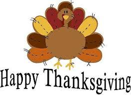 don t forget evr will be closed for thanksgiving on thursday 11