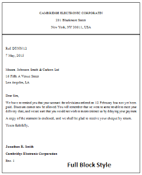 28 business letter using full block style 6 full block