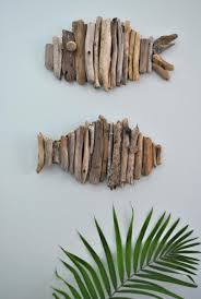 40 easy craft ideas to make this summer driftwood fish