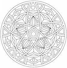 Dessins Gratuits à Colorier  Coloriage Mandala à imprimer