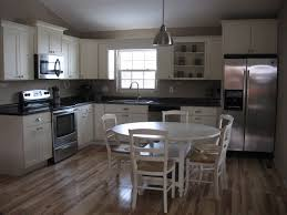 Kitchen Cabinets Rockford Il by Shaker Two Tone Cabinets Midwestern Kitchen Ideas