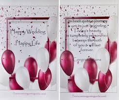 wedding wishes journey wedding wishes two occasions greeting cards