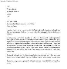 7 sample job rejection letter sephora resume 10 job rejection