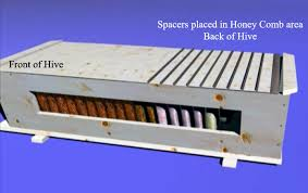 How To Build Top Bar Hive Backyardhive Com Using Spacers In The Top Bar Hive