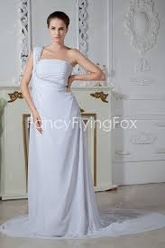 grecian style wedding dresses casual one shoulder style wedding dresses at fancyflyingfox