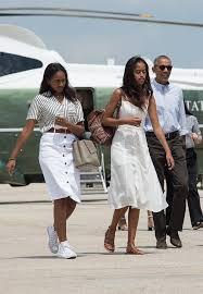 obama s see sasha and malia obama s style evolution through the years glamour