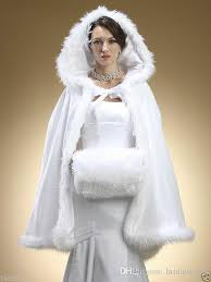 Winter Wedding Dress Discount Faux Fur Shawl With Winter Bridal Cape Christmas