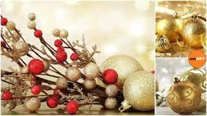 gold christmas ornaments christmas 2016 youtube