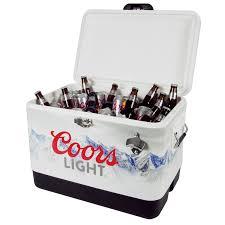 coors light beer fridge coors light stainless steel ice chest cooler