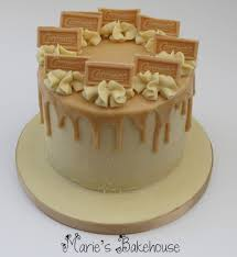 chocolate ganache cake decoration caramac drippy cake with caramac and white chocolate ganache www