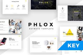 phlox minimal keynote template presentation templates creative