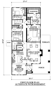 nice craftsman bungalow house plans 9 100 sq yds18x50 ft hahnow