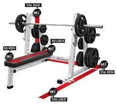 Chest Flat Bench Press Pro Series Olympic Flat Bench Legend Fitness
