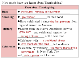 Why Do We Celebrate Thanksgiving Day History Meaning Cherry Wenzhou No 2 Foreign Language School We Celebrated The