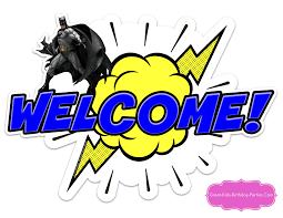 Welcome Home Banners Printable by Superhero Printables