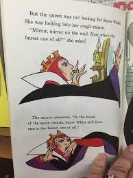 Mirror Mirror On The Wall Snow White Mirror Mirror U0027residue U0027 Found In Official Disney Merch From 1973