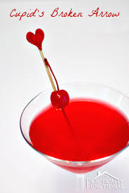 red martini splash valentine u0027s day cocktails cupid u0027s broken arrow
