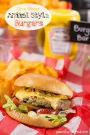 classic mustard animal style burgers and bbq party plan eazy