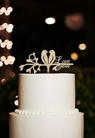 m cake topper rustic cake topper for wedding birds cake topper