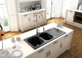 conception de cuisine evier de cuisine blanc vier en rsine noir evier cuisine resine gris