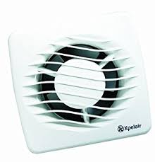 Xpelair DXT  Mm Bathroom Extractor Fan With Window Or - Bathroom fan window