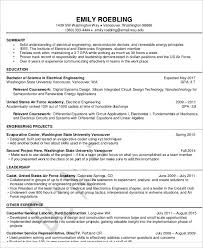Electrical Engineer Resume Templates 54 Engineering Resume Templates Free U0026 Premium Templates