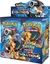 amazon com pokemon tcg card game xy evolutions factory sealed
