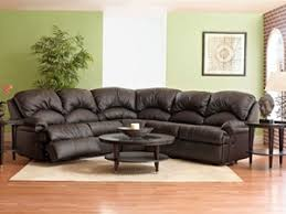 phoenix klaussner leather sleeper sectional town and country